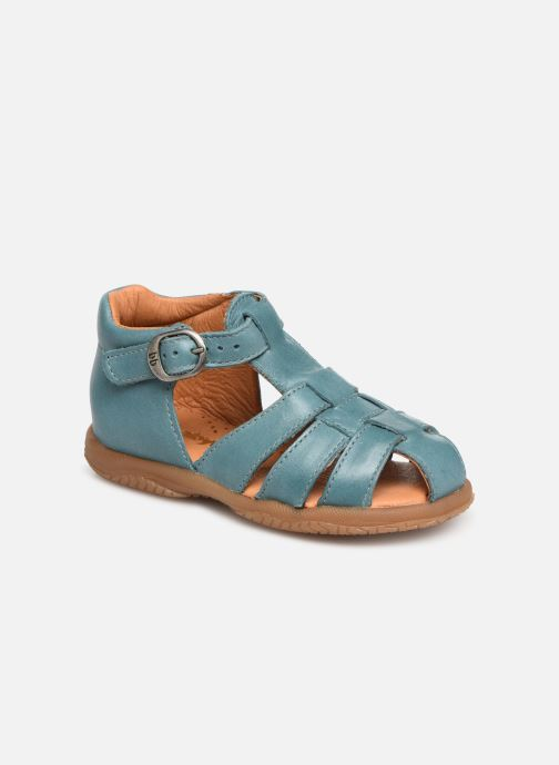 Sandaler Babybotte Tagada Blå detaljerad bild på paret