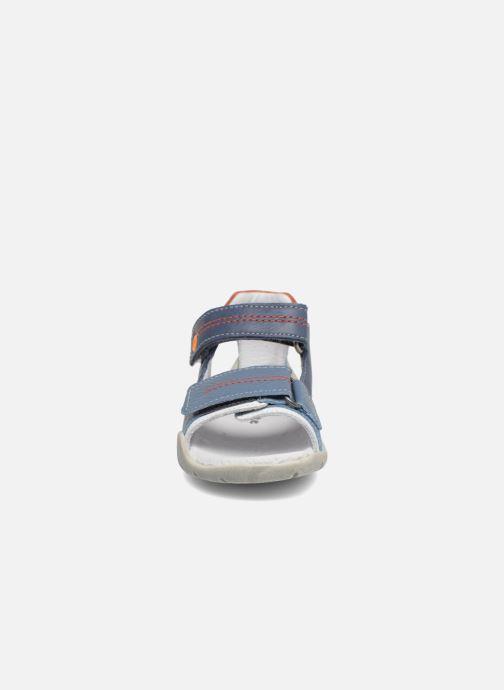 Sandales et nu-pieds Babybotte Tandem Bleu vue portées chaussures