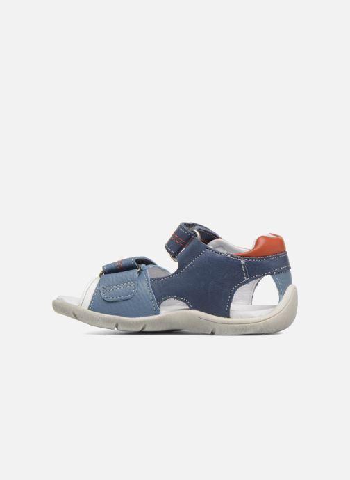 Sandales et nu-pieds Babybotte Tandem Bleu vue face