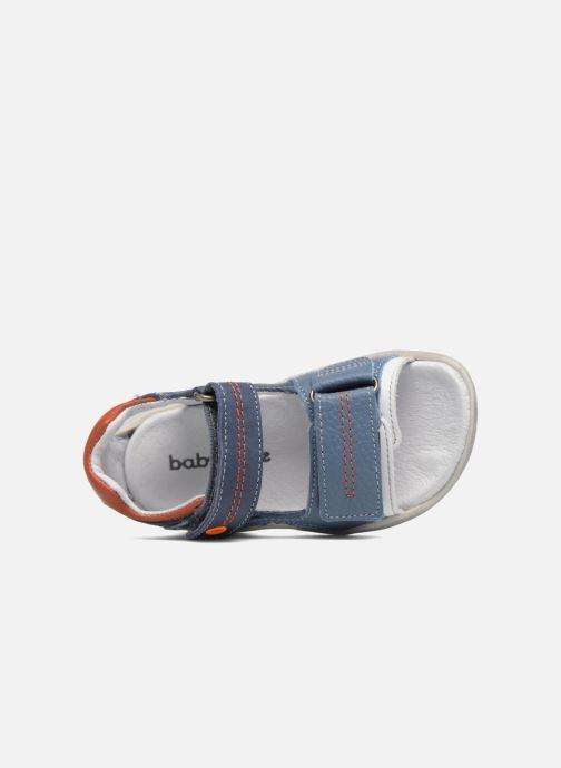 Sandales et nu-pieds Babybotte Tandem Bleu vue gauche