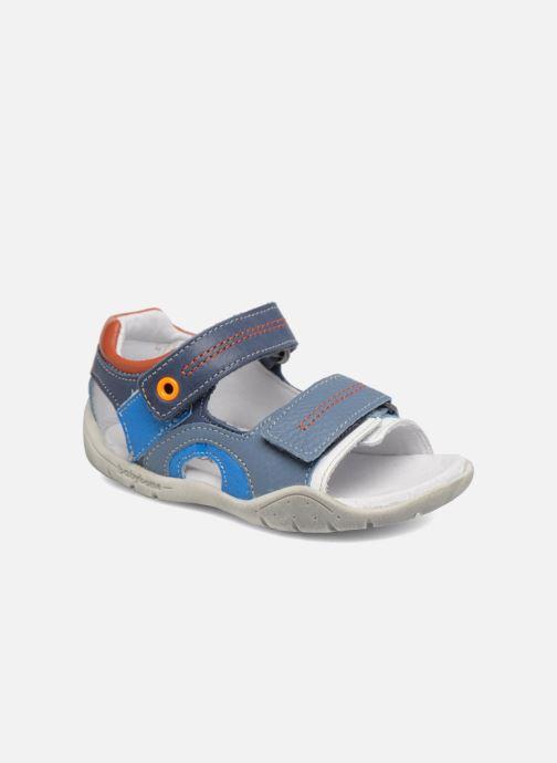Sandaler Babybotte Tandem Blå detaljerad bild på paret