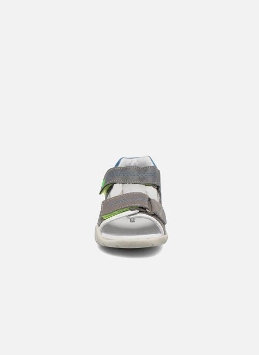 Sandales et nu-pieds Babybotte Tandem Gris vue portées chaussures