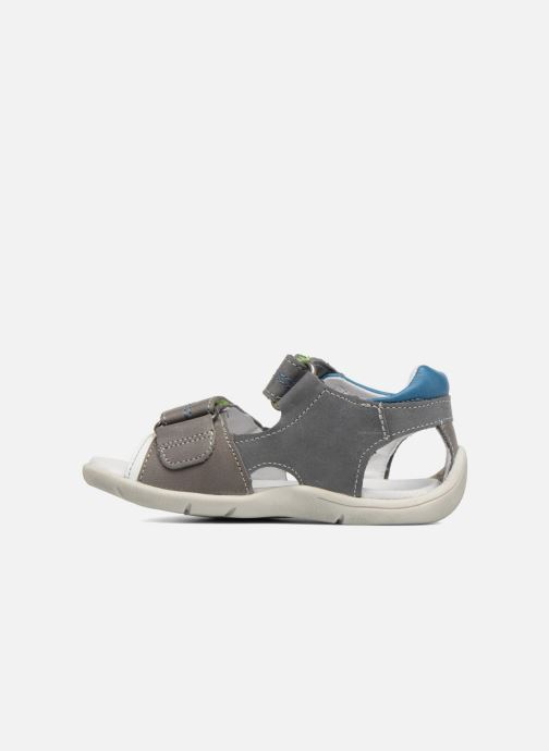 Sandales et nu-pieds Babybotte Tandem Gris vue face