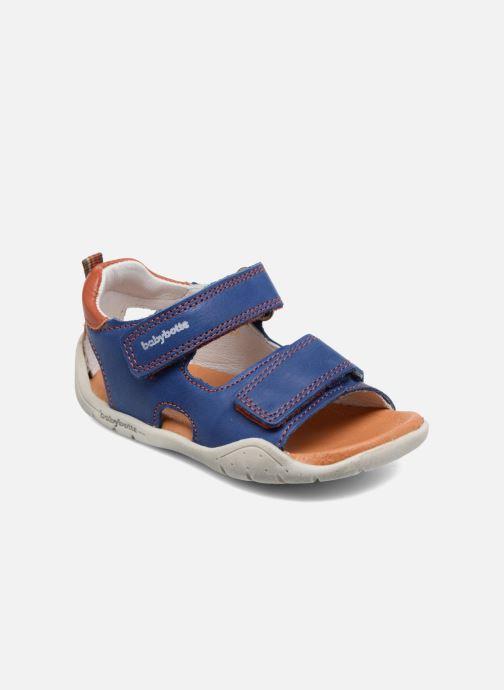59f05081464 Sandaler Babybotte Tyfon Blå detaljeret billede af skoene