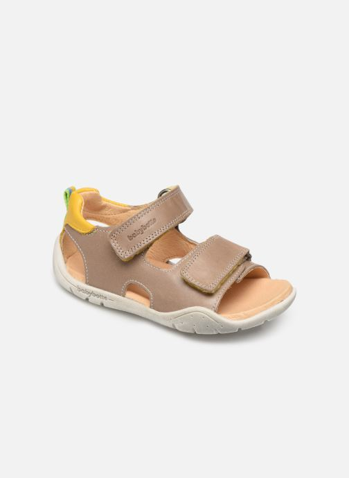 Sandales et nu-pieds Babybotte Tyfon Beige vue détail/paire