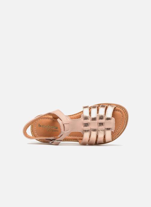 Sandales et nu-pieds Babybotte Krevette Rose vue gauche