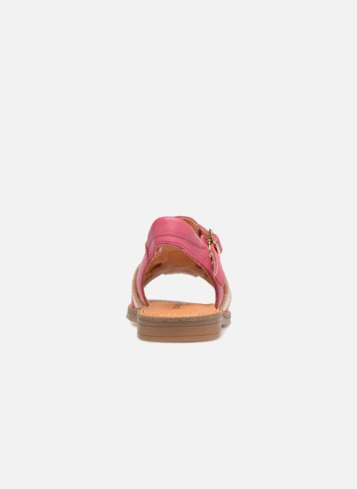 Sandaler Babybotte Krevette Rosa Bild från höger sidan