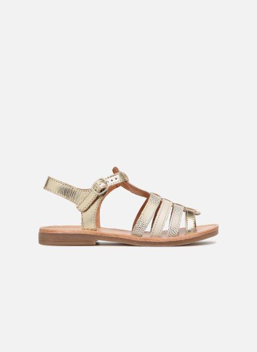 Sandales et nu-pieds Babybotte Ylona Or et bronze vue derrière