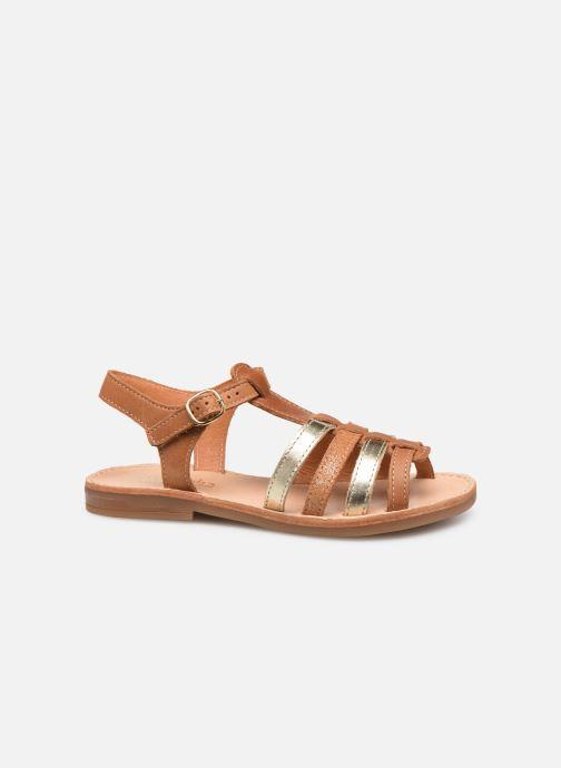 Sandales et nu-pieds Babybotte Ylona Marron vue derrière