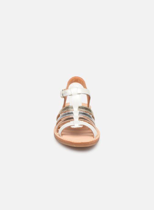 Sandales et nu-pieds Babybotte Ylona Blanc vue portées chaussures