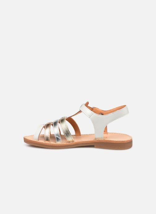 Sandales et nu-pieds Babybotte Ylona Blanc vue face