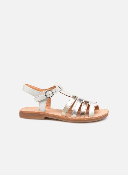 Sandales et nu-pieds Babybotte Ylona Blanc vue derrière