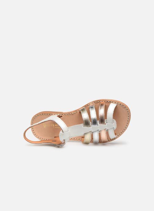 Sandales et nu-pieds Babybotte Ylona Blanc vue gauche