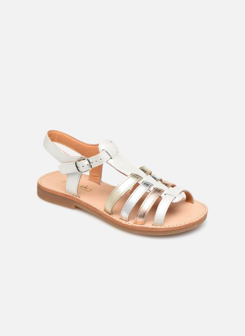 Sandales et nu-pieds Babybotte Ylona Blanc vue détail/paire