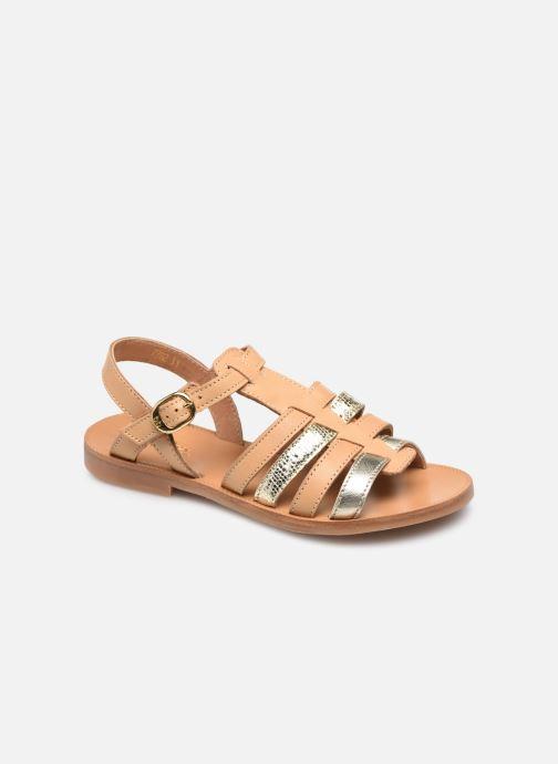 Sandales et nu-pieds Babybotte Ylona Beige vue détail/paire