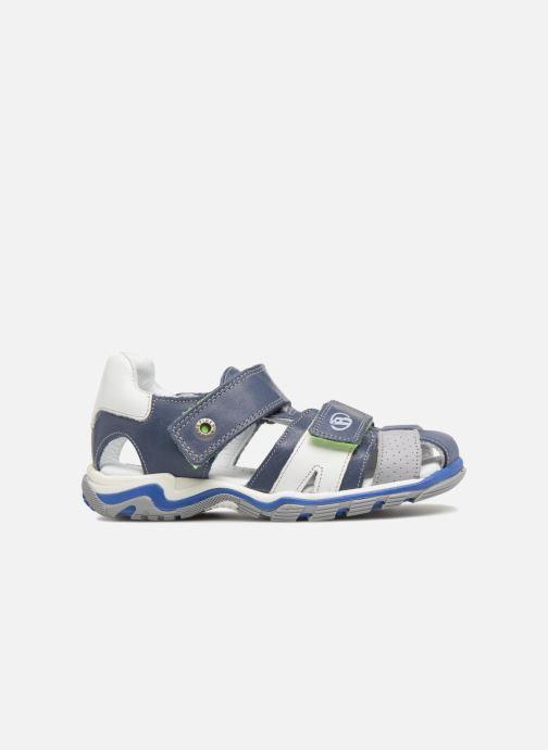 Sandalen Babybotte Kev Blauw achterkant