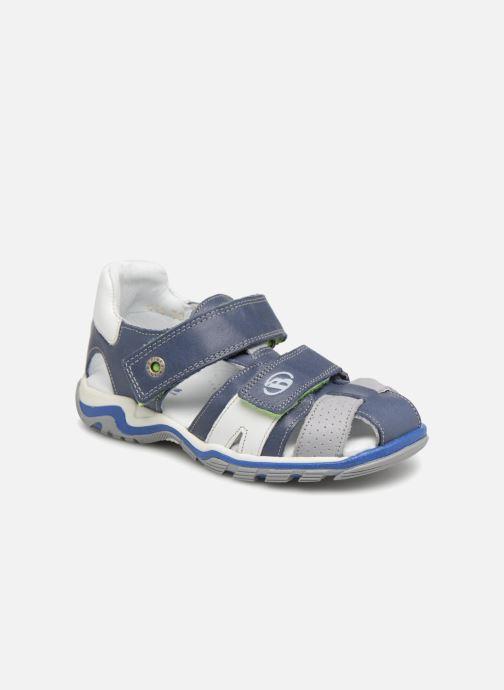 Sandalen Babybotte Kev Blauw detail