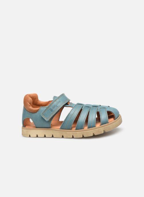 Sandals Babybotte Keko Blue back view