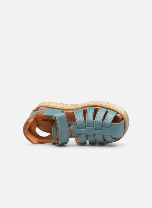 Sandals Babybotte Keko Blue view from the left