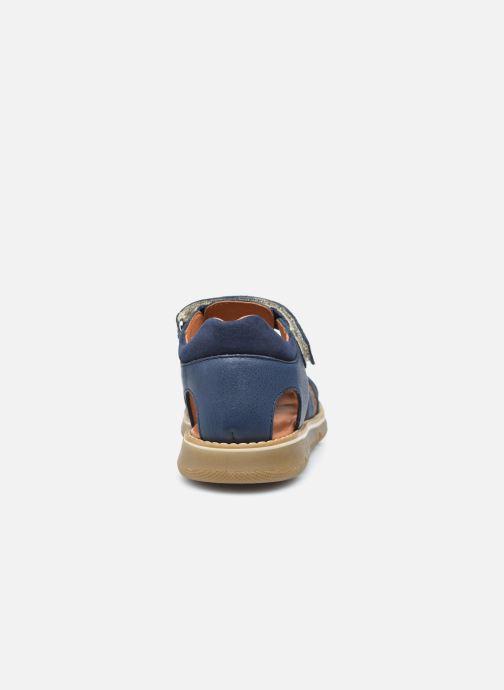 Sandalen Babybotte Keko Blauw rechts