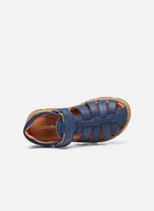 Sandalen Babybotte Keko Blauw links