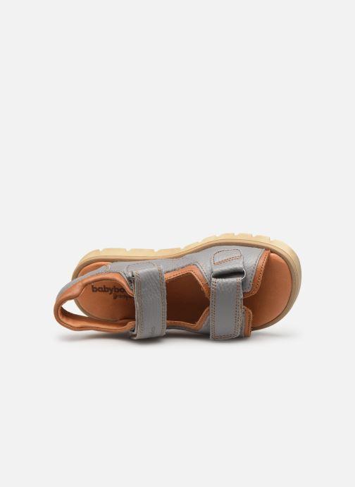 Sandales et nu-pieds Babybotte Krumble Gris vue gauche