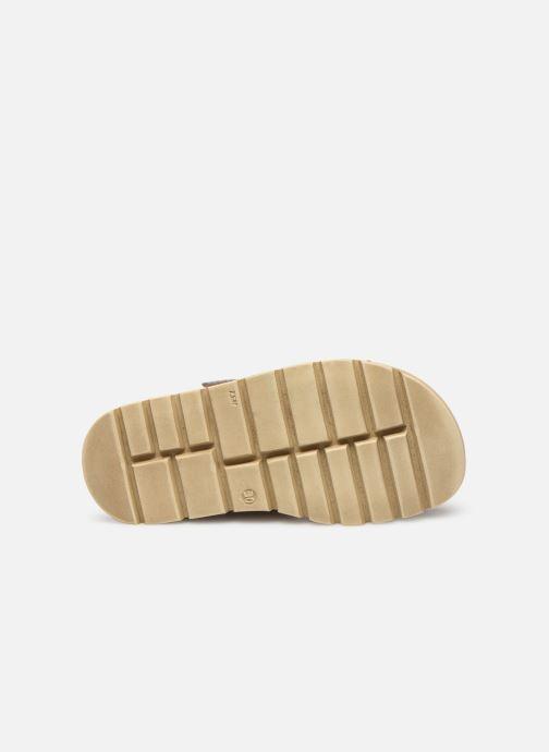 Sandales et nu-pieds Babybotte Krumble Gris vue haut