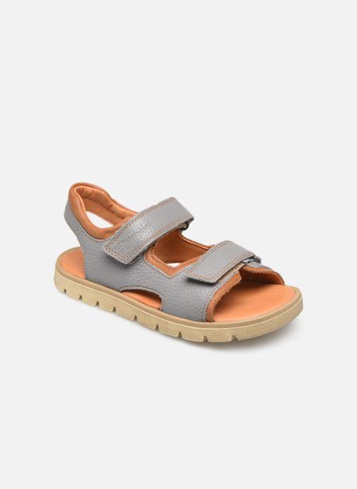 Sandales et nu-pieds Babybotte Krumble Gris vue détail/paire