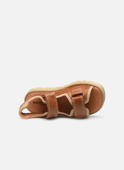 Sandali e scarpe aperte Babybotte Krumble Marrone immagine sinistra