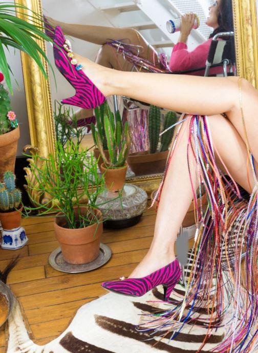 Divers Sarenza x Shourouk Sarenza x Shourouk #2 Multicolore vue derrière