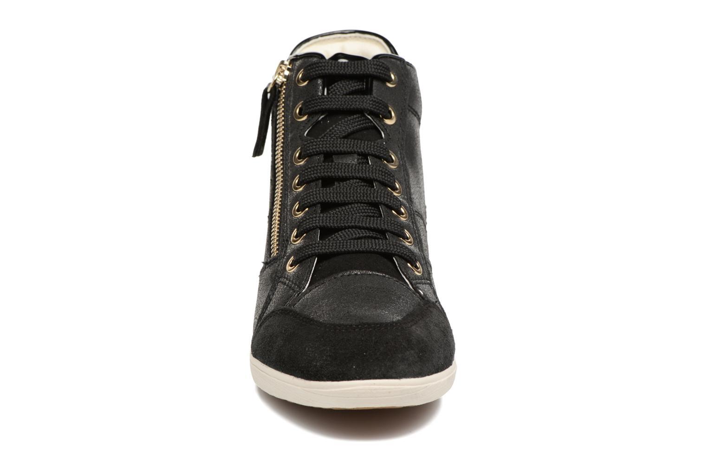 Baskets Geox D MYRIA C D6468 Noir vue portées chaussures