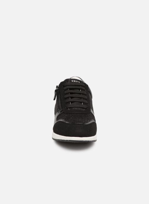 Baskets Geox D AVERY A D74H5A Noir vue portées chaussures