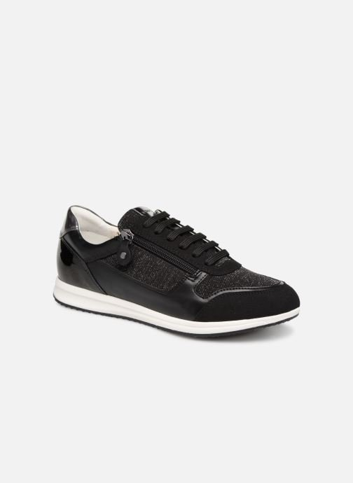 Trainers Geox D AVERY A D74H5A Black detailed view/ Pair view