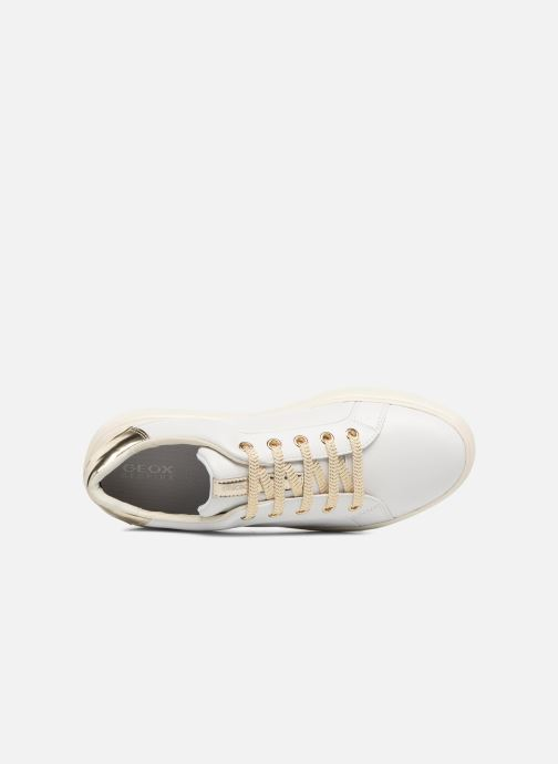 Sneakers Geox D NHENBUS A D828DA Wit links