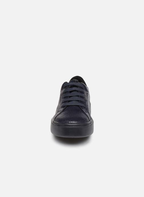Baskets Geox D NHENBUS A D828DA Bleu vue portées chaussures