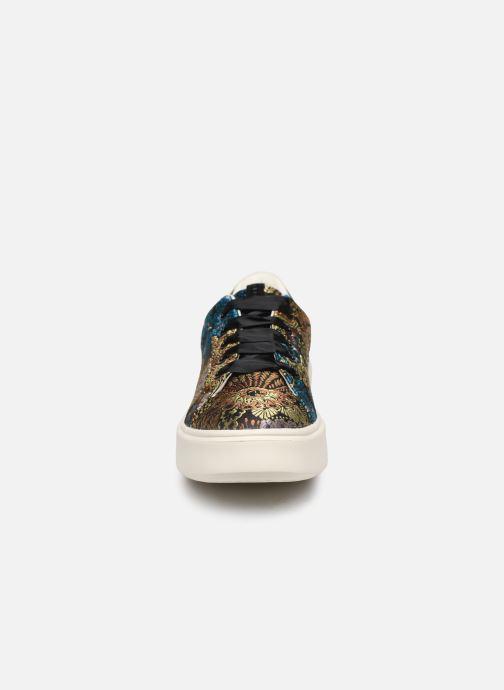 Baskets Geox D NHENBUS A D828DA Multicolore vue portées chaussures