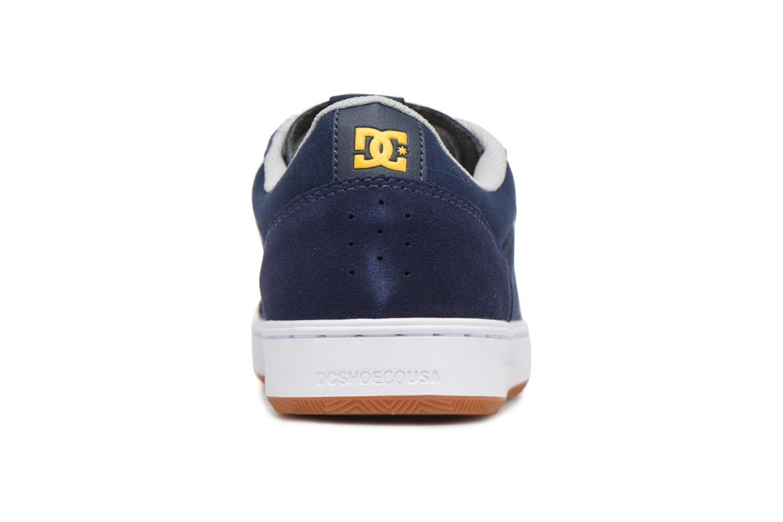 Baskets DC Shoes Astor Bleu vue droite