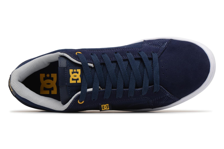 Baskets DC Shoes Astor Bleu vue gauche