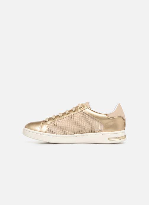 Sneakers Geox D JAYSEN A D821BA Goud en brons voorkant