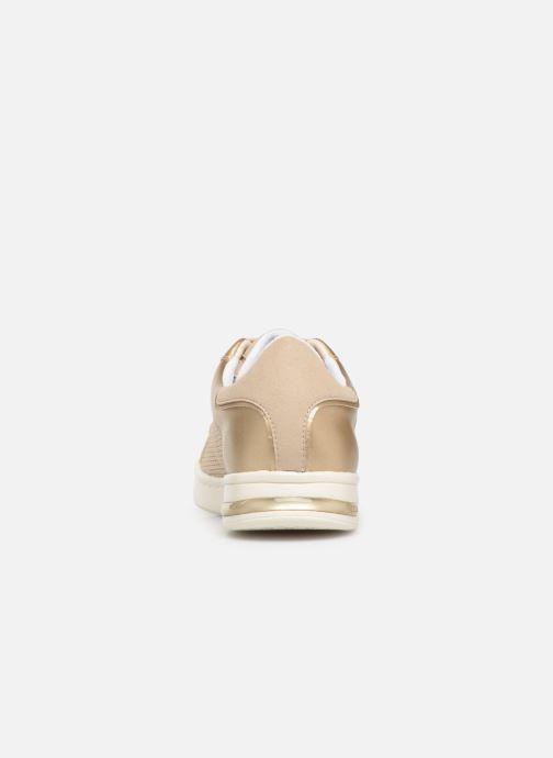 Sneakers Geox D JAYSEN A D821BA Goud en brons rechts