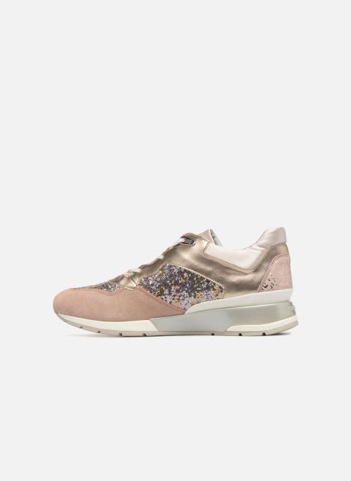 Sneakers Geox D SHAHIRA B-1 D62N1B Guld og bronze se forfra
