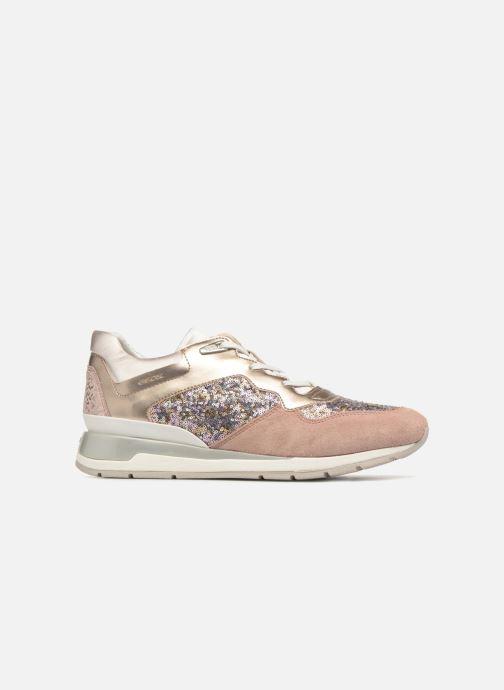Sneakers Geox D SHAHIRA B-1 D62N1B Guld og bronze se bagfra