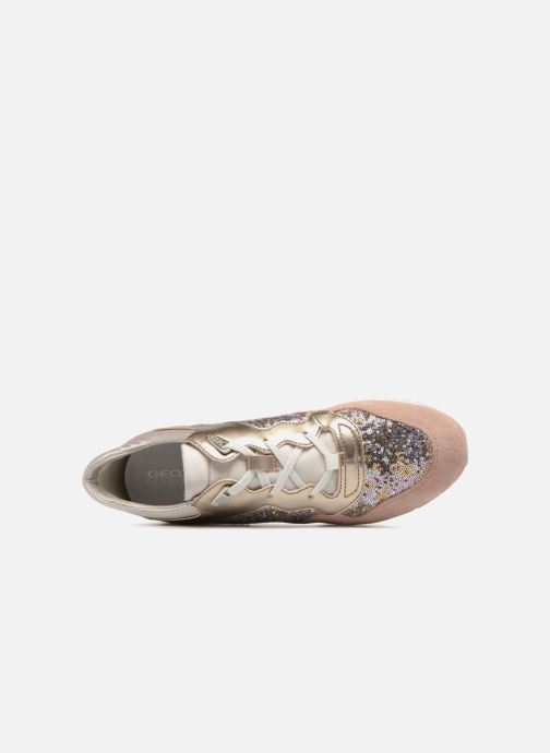 Sneakers Geox D SHAHIRA B-1 D62N1B Guld og bronze se fra venstre