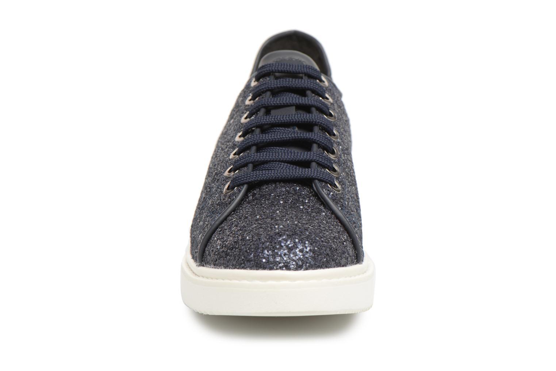 Baskets Geox D THYMAR C D824BC Bleu vue portées chaussures