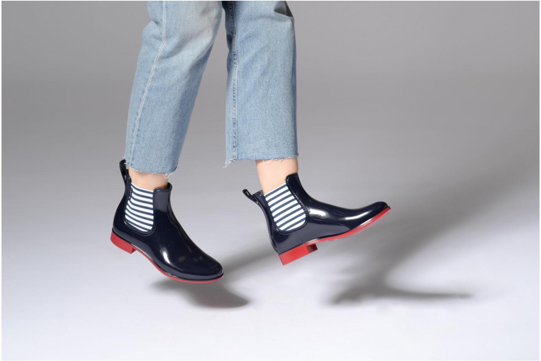 Bottines et boots Méduse Japmer Bleu vue bas / vue portée sac