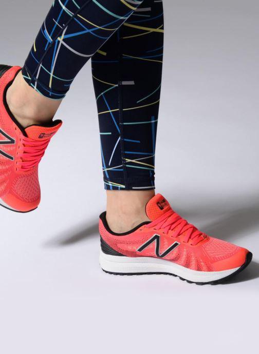 Chaussures de sport New Balance WRUSH PE18 Orange vue bas / vue portée sac