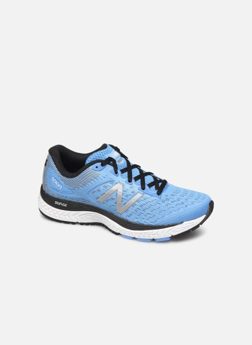 Sport shoes New Balance WSOLV Blue detailed view/ Pair view