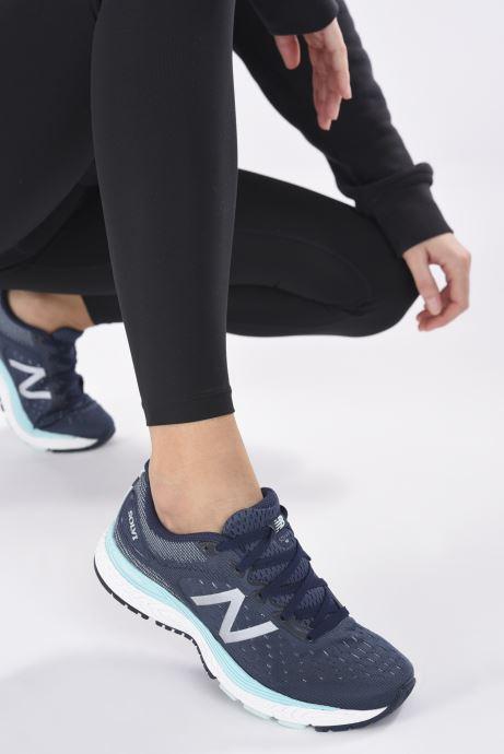 Zapatillas de deporte New Balance WSOLV Azul vista de abajo