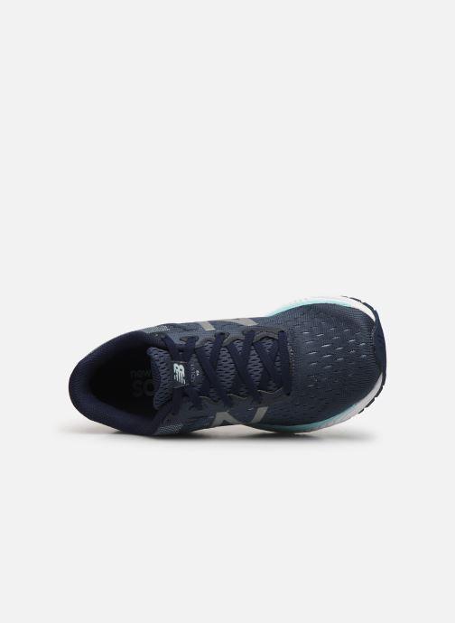Zapatillas de deporte New Balance WSOLV Azul vista lateral izquierda