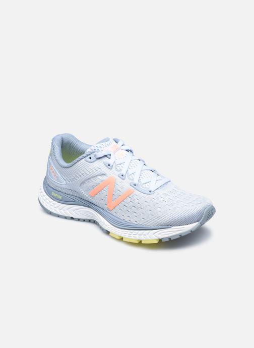 Chaussures de sport New Balance WSOLV Bleu vue détail/paire